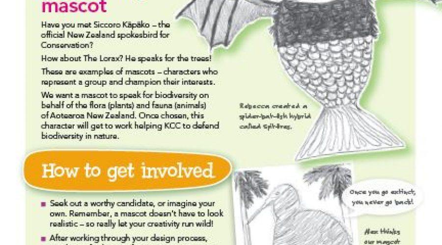 Vote for our new biodiversity mascot