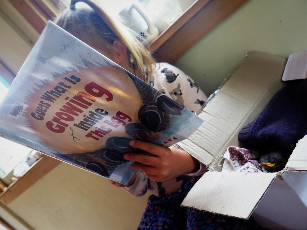 Ina reading to Tui