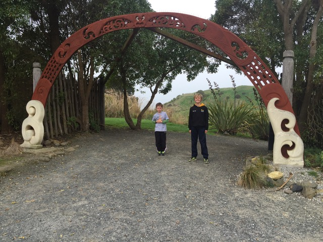 Daniel and Gemma at Huriawa Peninsula