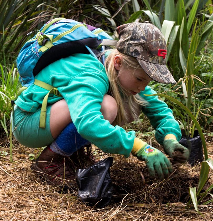 Arbor Day Planting at Matuku Link