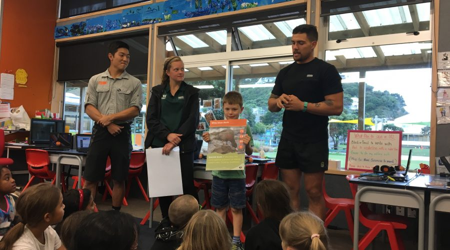 Design a Card Competition with ZEALANDIA