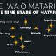 Te Iwa o Matariki | The Nine Stars of Matariki