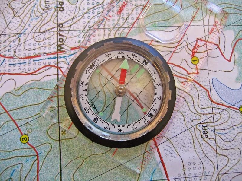 Orienteering at Duder Regional Park