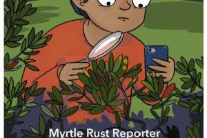 Myrtle Rust Reporter App