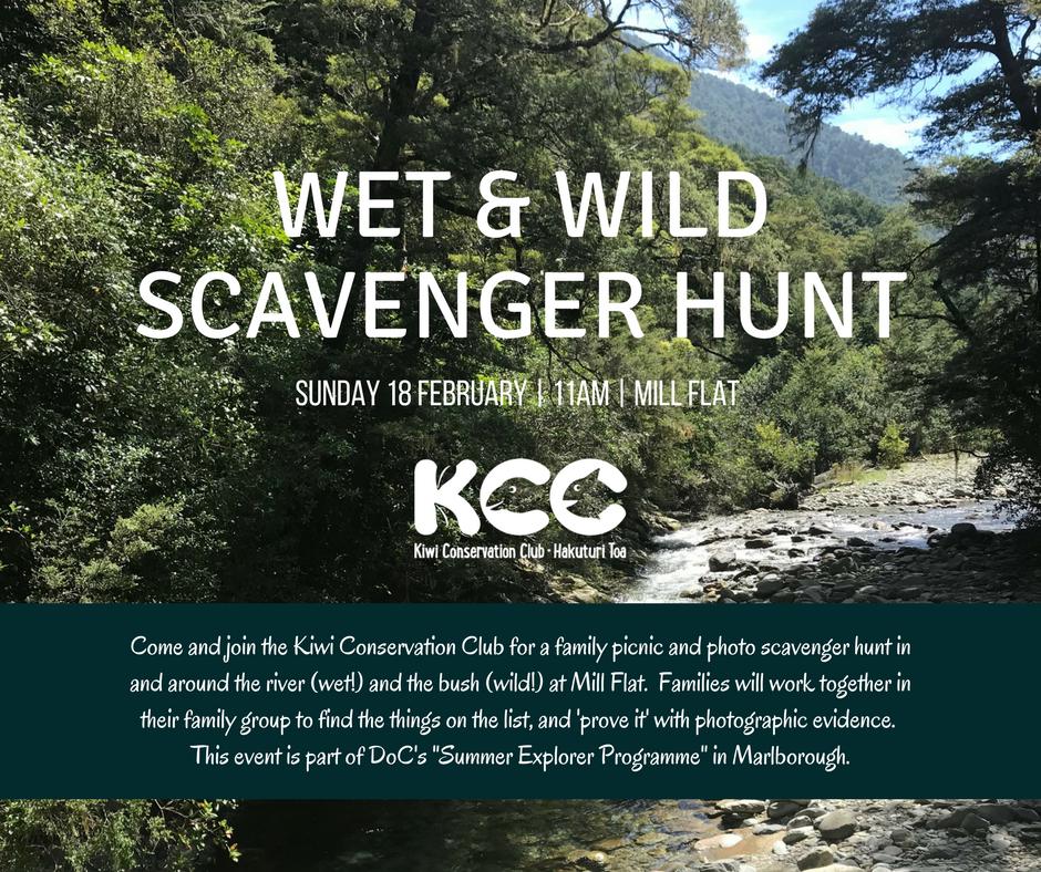 Wet & Wild Scavenger Hunt (CANCELLED)