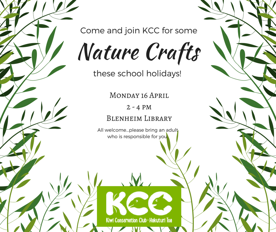 Nature Crafts at the Library