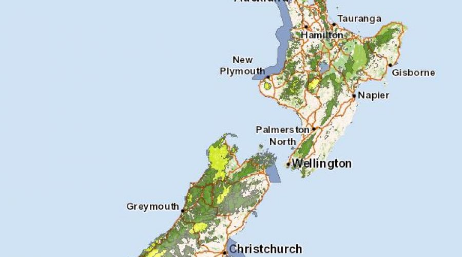 Public Conservation Land in New Zealand
