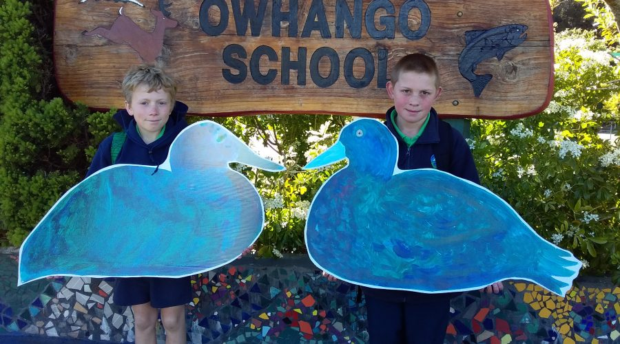 Owhango School Students' Whio Project